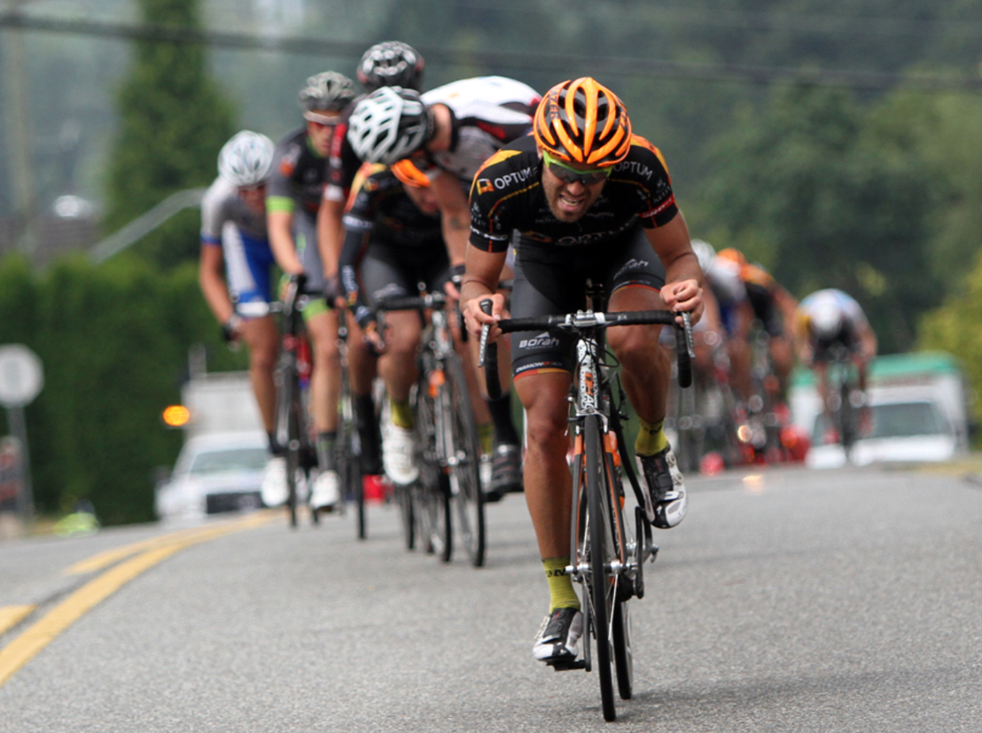 Jesse Anthony Sprints To Victory in The  Tour De Delta White Spot/Delta Road Race
