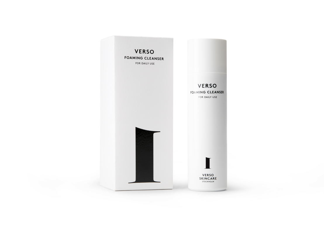 Verso No1 Foaming Cleanser - 32 euro