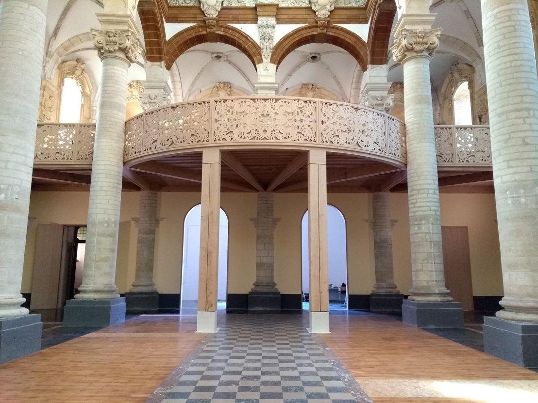 nieuw doksaal Sint-Michielskerk