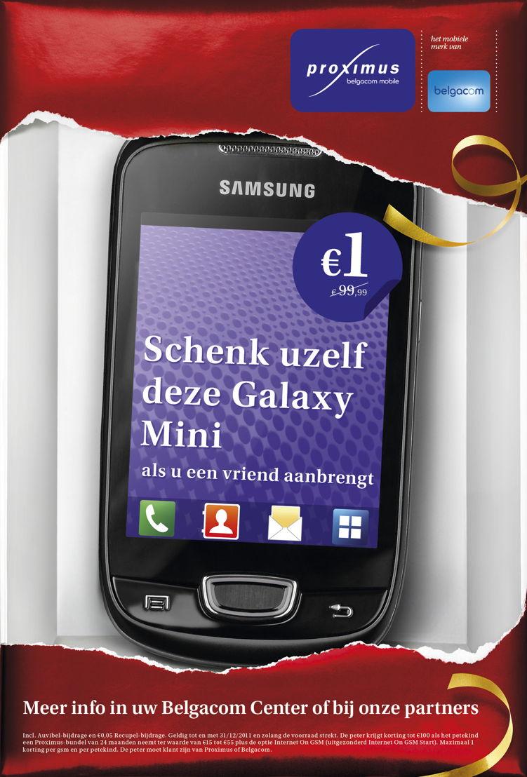 Outdoor - Promo Samsung Galaxy Mini smartphone