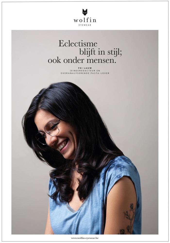WOLFIN - Belgische brillen met boodschap van vrouwelijke veerkracht
