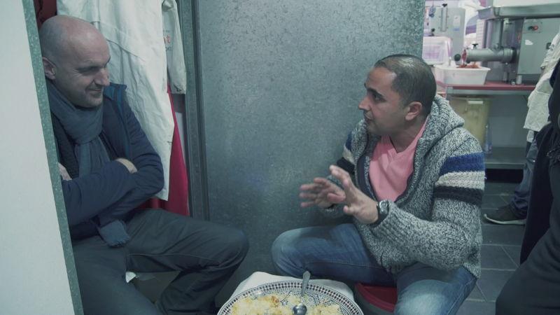 Eric Goens en Mohamed