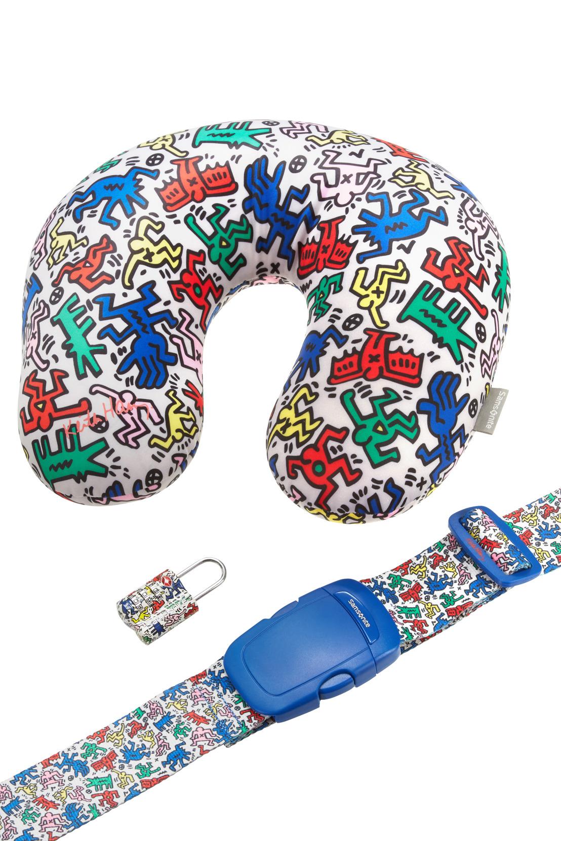 Samsonite goes Keith Haring !