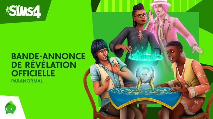 Le kit d'objets Les Sims 4 Paranormal est désormais disponible