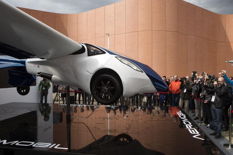 AeroMobil 3.0 prototype at the EXPO 2015