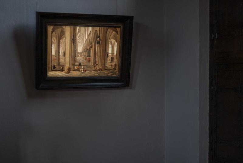 Pieter Neeffs, Interieur van de Onze-Lieve-Vrouwekathedraal, Langdurig bruikleen, particuliere verzameling, foto Ans Brys