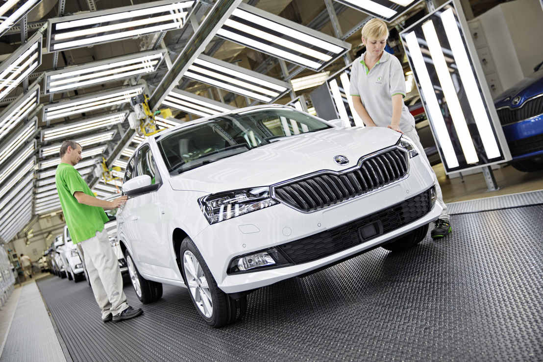 Production of revised ŠKODA FABIA begins in Mladá Boleslav
