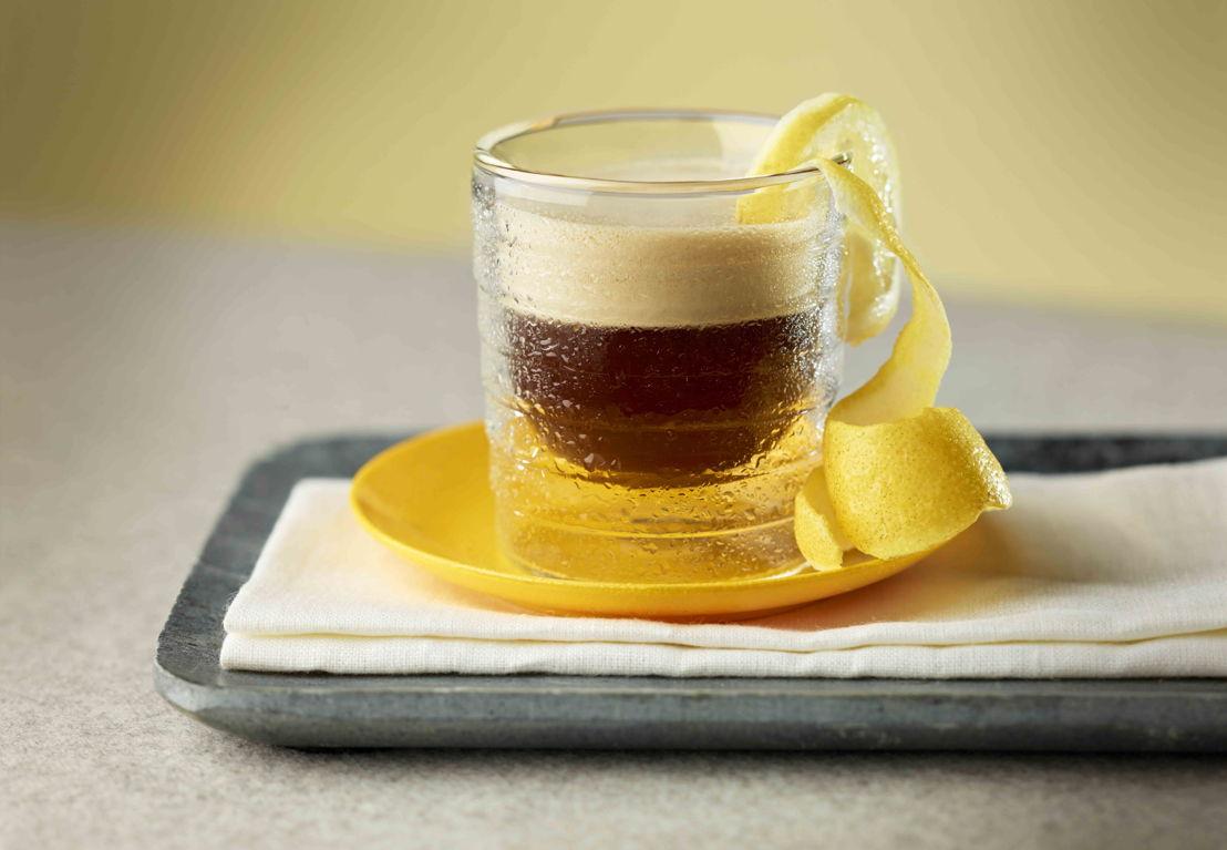 Café glacé au citron