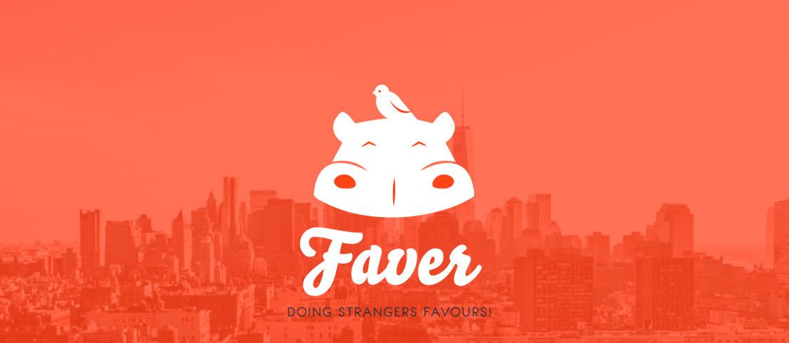 Belgische app Faver laat onbekenden elkaar een gunst doen