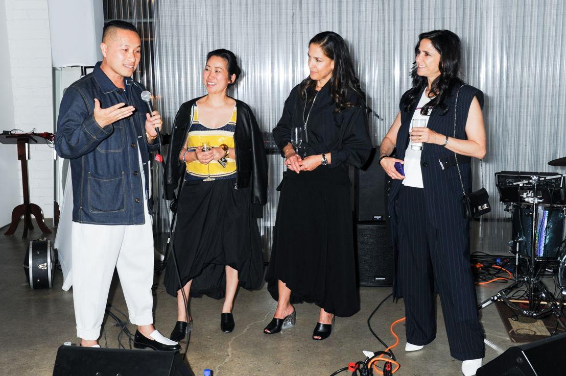 Phillip Lim, Wen Zhou y Bertha González Nieves