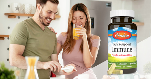 Carlson Introduces Nutra-Support® Immune, A Powerful Blend of Antioxidants