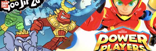 Bandai lanza sorprendentes figuras y personajes de Goo Jit Zu y Power Players para nuevas batallas y diversión infinita