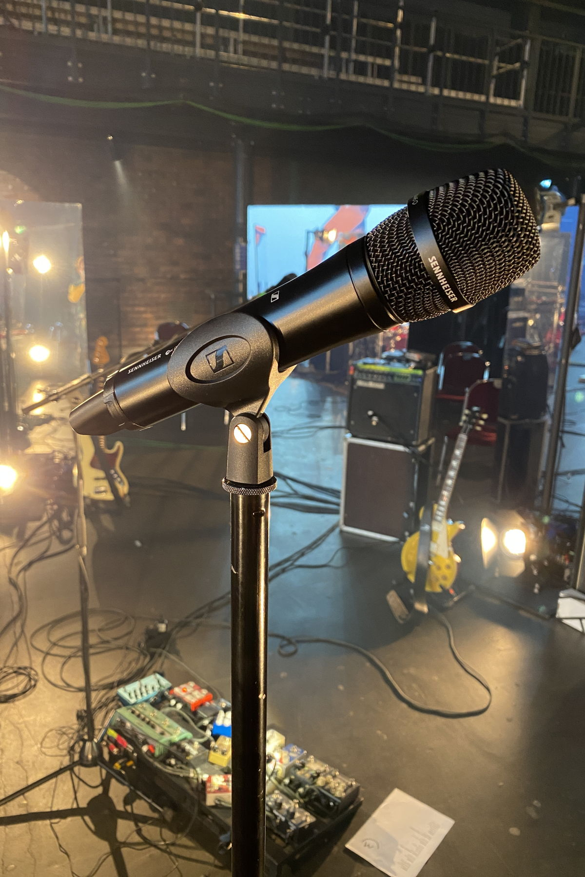 Milliarden's Ben Hartmann used an evolution wireless 500 G4 handheld transmitter with the new high-rejection MM 445 microphone head