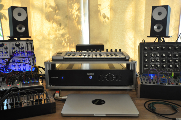 Sacha Ketterlin Expands the Scope of Electronic Music with Amphion One15 and FlexBase25