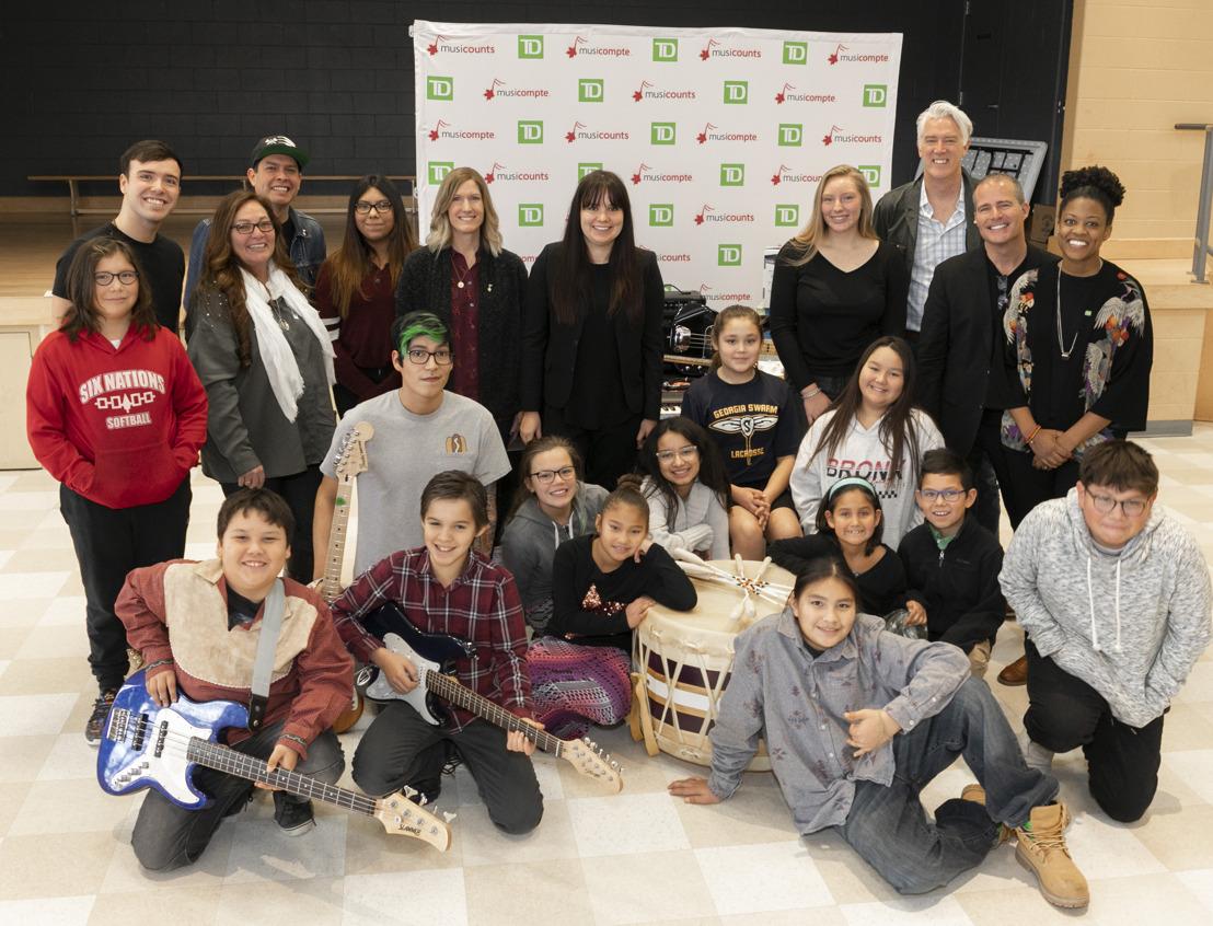 2018 MusiCounts TD Community Music Program Recipients Announced