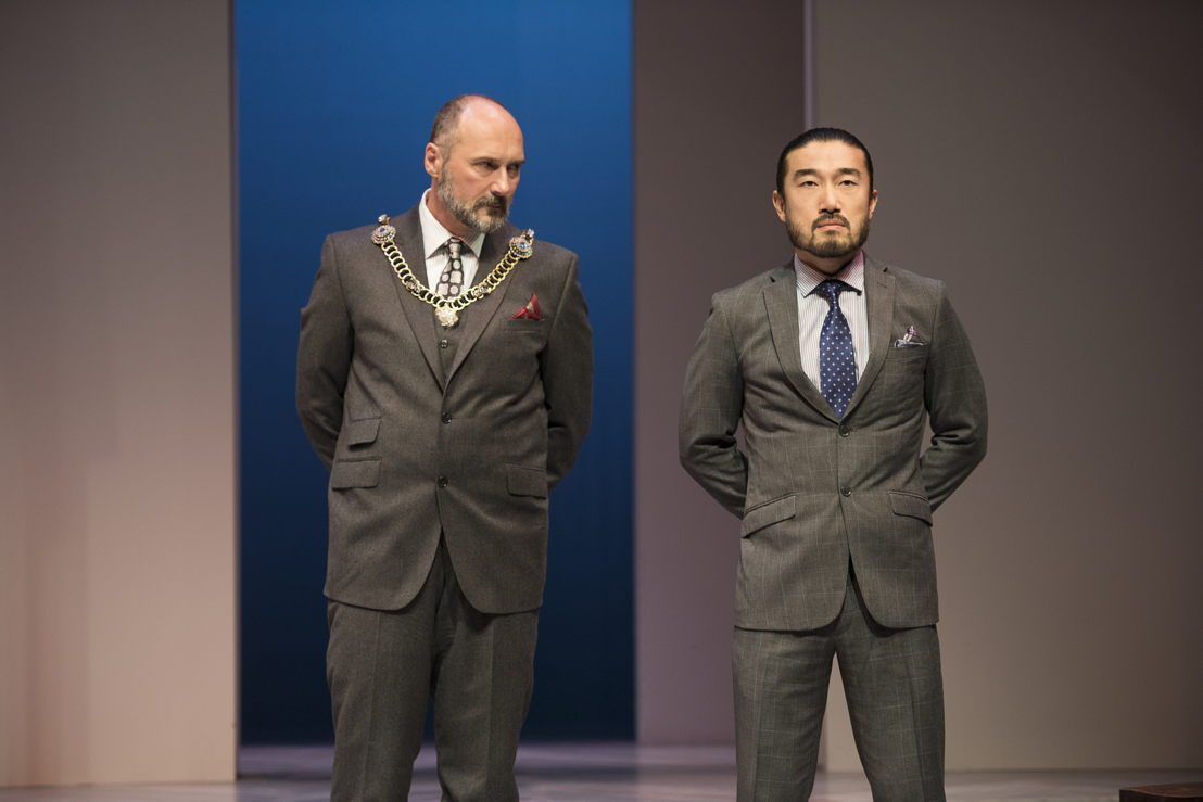 Oliver Becker and Sean Baek in The Last Wife by Kate Hennig / Photos by Emily Cooper