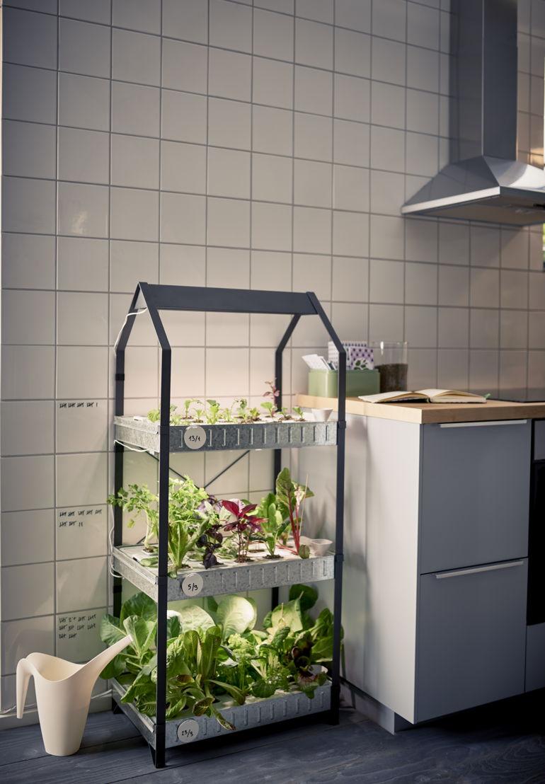 IKEA_KRYDDA_kweekeenheid met 3 niveaus_79,90