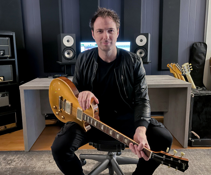 Preview: Guitarist Erik Himel Uses Amphion One18, Amp700, and Flexbase25 for 'Maximum Efficiency' in Studio Setup