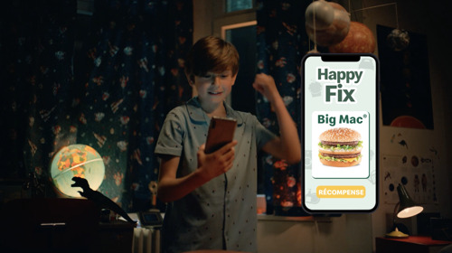 McDonald's® launches Happy Fix with a little help from TBWA