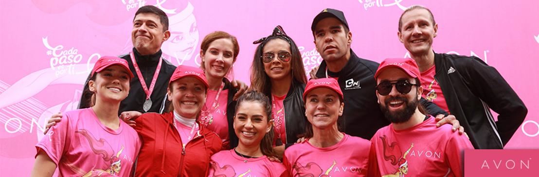 ¡Avon lo vuelve a hacer! 7 mil corredores en CDMX se solidarizan y participan en la doceava carrera mixta contra el cáncer de mama