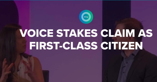VOICE Stakes Claim as First-Class Citizen