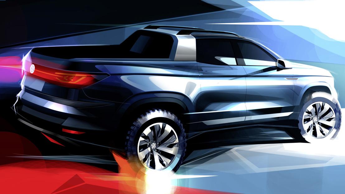 Volkswagen presentará un Pickup concepto en São Paulo