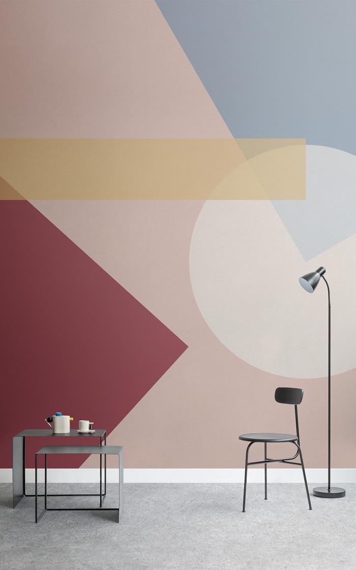 Una colección de papeles pintados para celebrar los 100 años de la Bauhaus