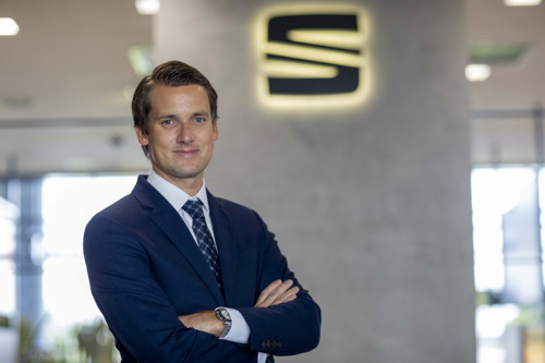Fabian Simmer, SEAT's new global Head of Product and Events Communications