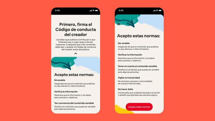 Pinterest presenta nuevas herramientas para que el contenido siga siendo positivo, seguro e inspirador