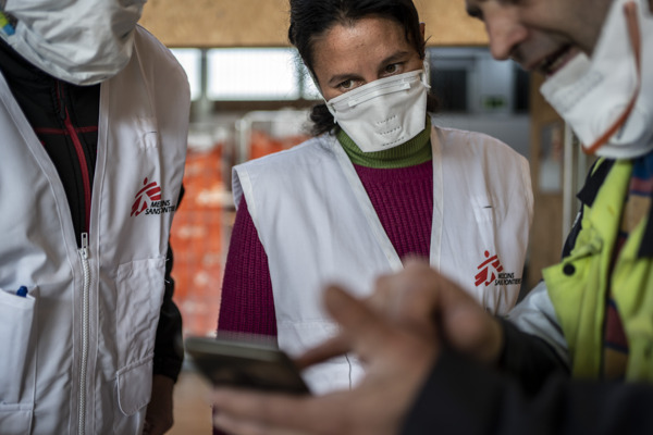 Preview: MSF steps up response to COVID-19 in Europe