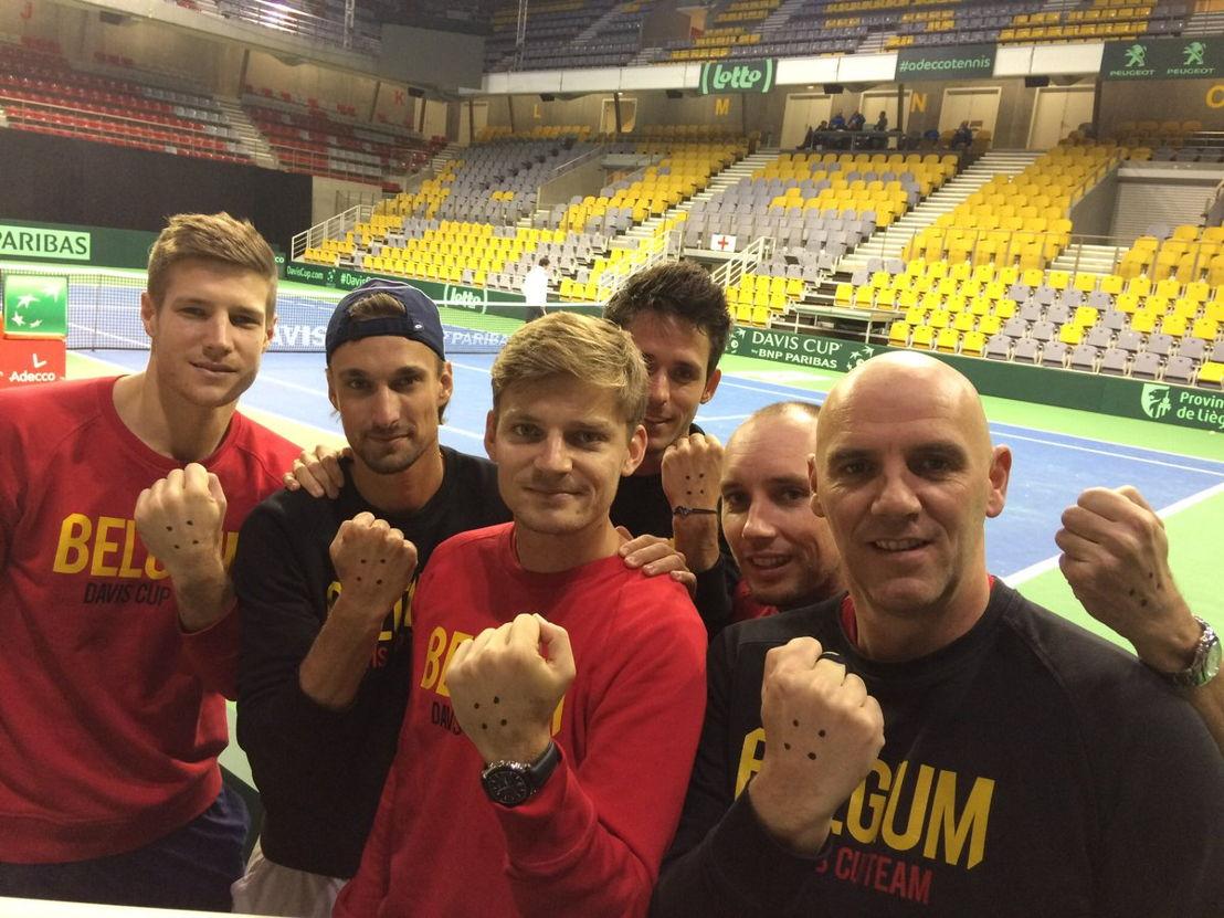 Davis Cup team Belgium