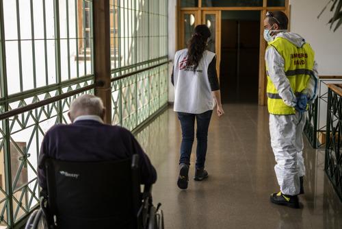 COVID-19: respuesta de MSF en residencias. Vídeo comunicado y declaraciones para medios