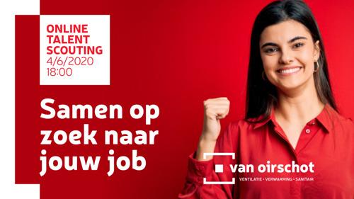 Groothandel Van Oirschot organiseert digitaal jobevent op 4 juni