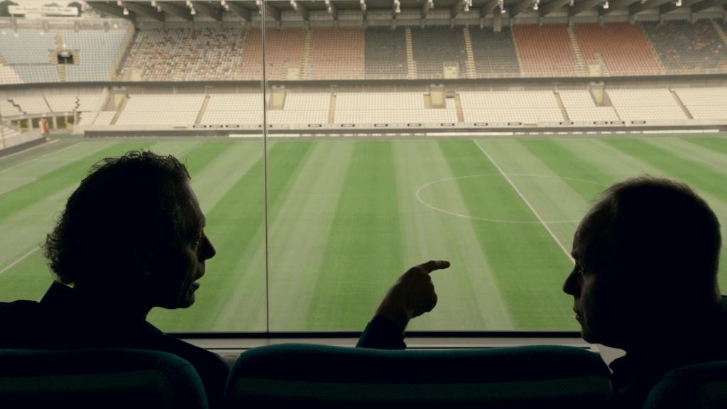 Michel Preud'homme en Ben Crabbé in Karakters - (c) deMENSEN/VRT
