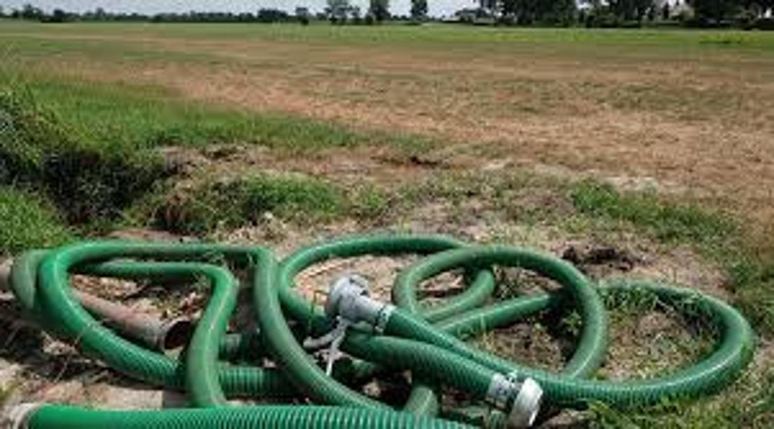 Gouverneur schort uitbreiding captatieverbod op en roept op om spaarzaam te zijn met drinkwater