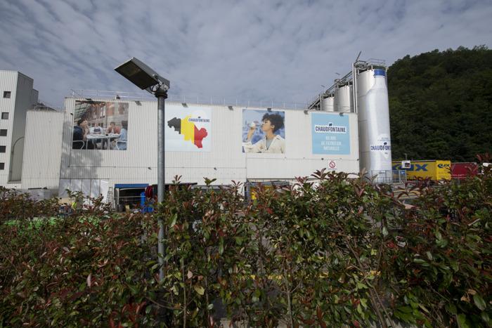 Mineraalwater Chaudfontaine solidair in heropbouw gemeente Chaudfontaine na overstromingen met schenking van 1 miljoen euro