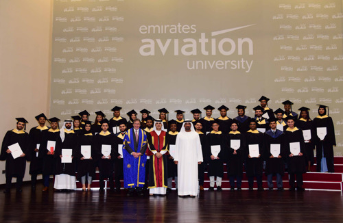 Emirates Aviation University honours Class of 2016