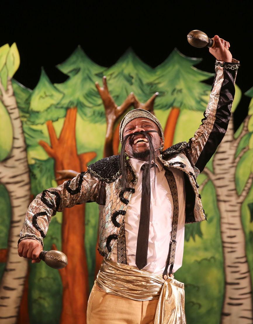 The Gruffalo with Sisonke Yafele - credit Nardus Engelbrecht Cape Town Fringe 2016