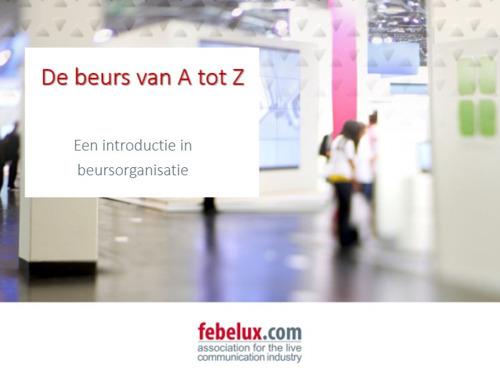 Preview: Febelux brengt cursus voor Hogescholen