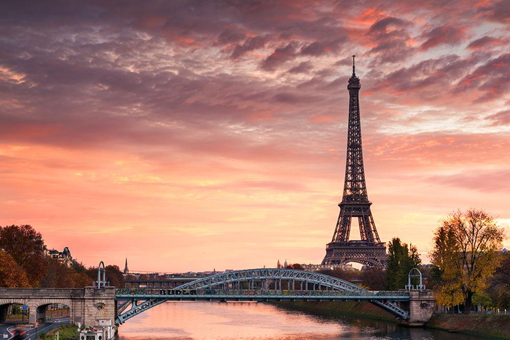 Parijs - zicht op de Eifeltoren