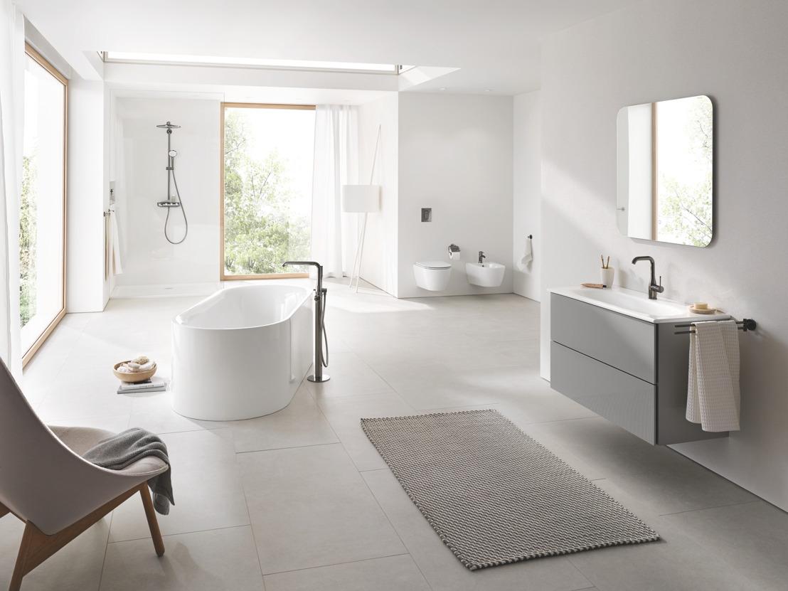 Schoonheid in zijn puurste vorm: GROHE lanceert nieuwe keramiek- en badkamerserie Essence