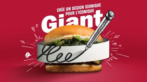 Un nouveau design pour l'iconique Giant de Quick en édition limitée