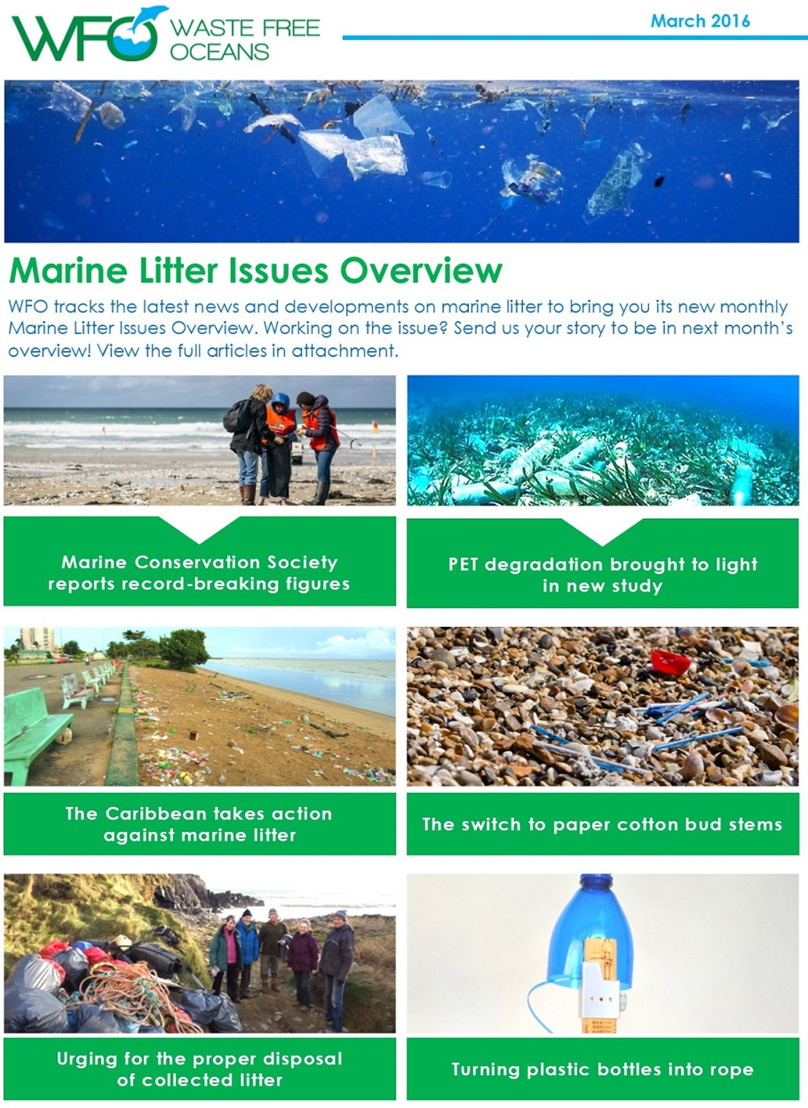 WFO Marine Litter Issues Overview - March 2016
