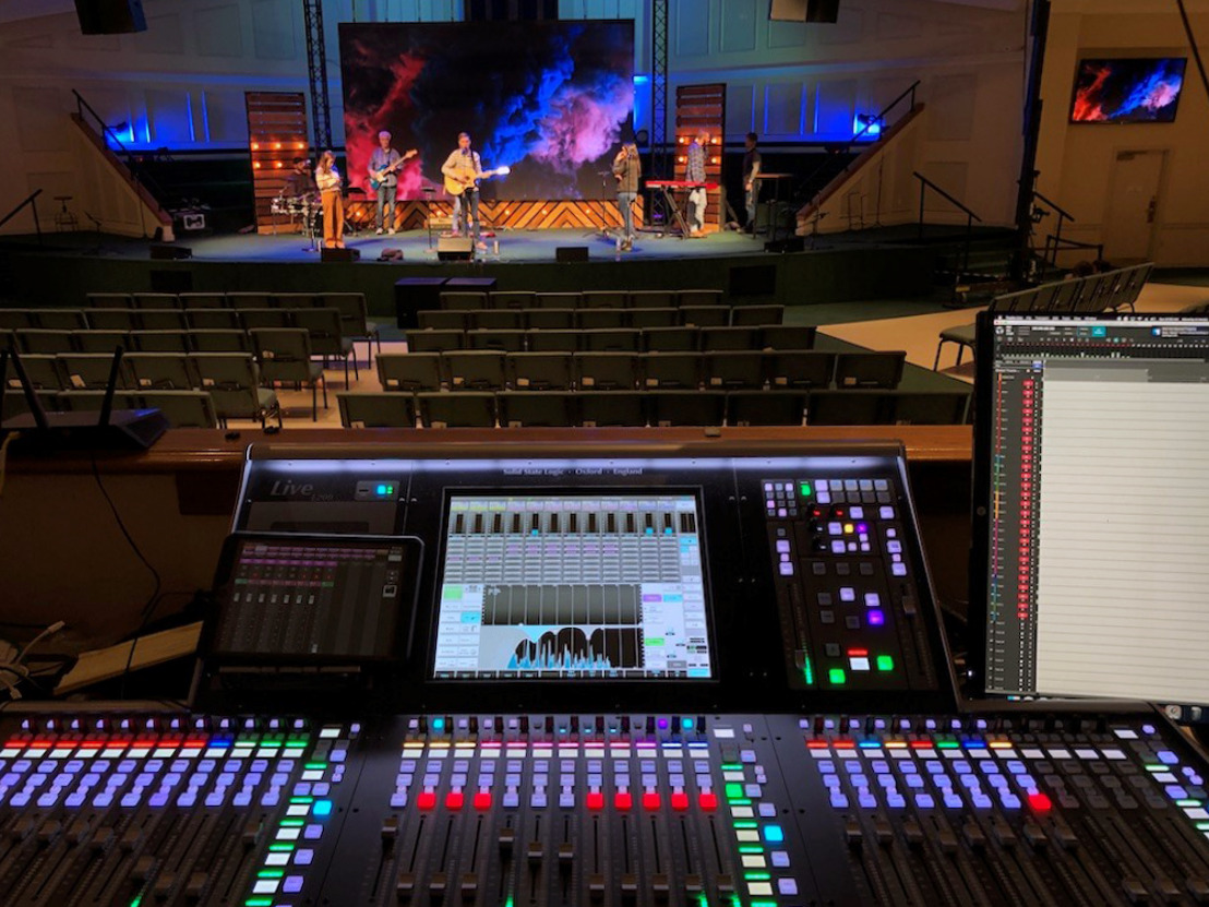 Southcrest Baptist Church Opens 'The Venue', with Solid State Logic L200 Digital Mixing Console at its Heart