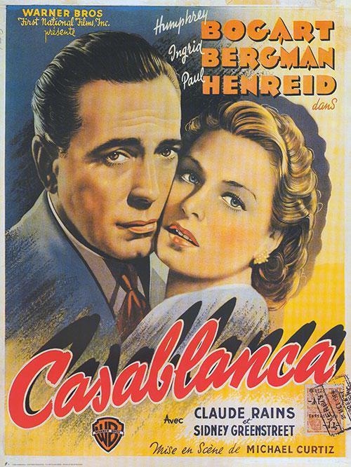 Casablanca - affiche