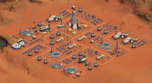 Auf zu den Sternen: Forge of Empires erobert den Mars