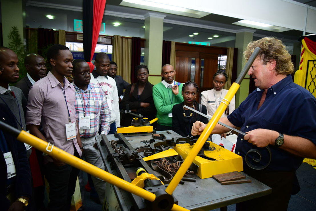 Live product demonstrations at The Big 5 Construct East Africa 2016
