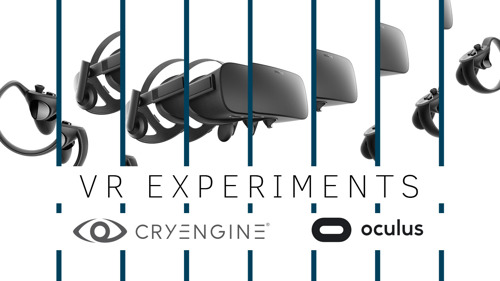 VR Locomotion – A series of experiments in Cooperation with Oculus
