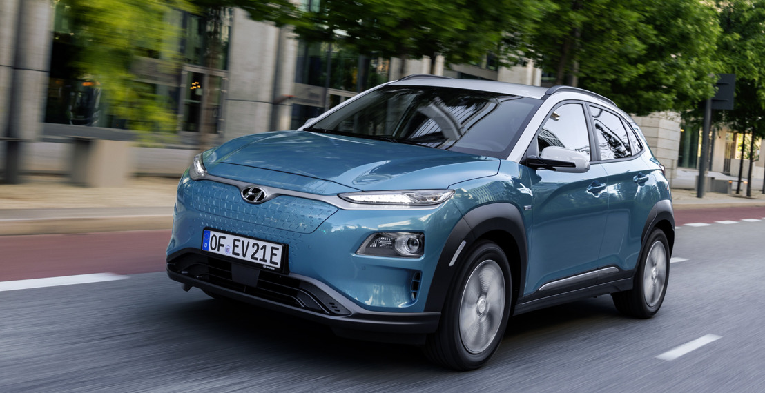 kompromisslos unterwegs, mit dem All-New Hyundai KONA electric