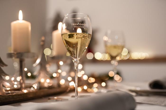 Trentodoc sulla tavola di Natale